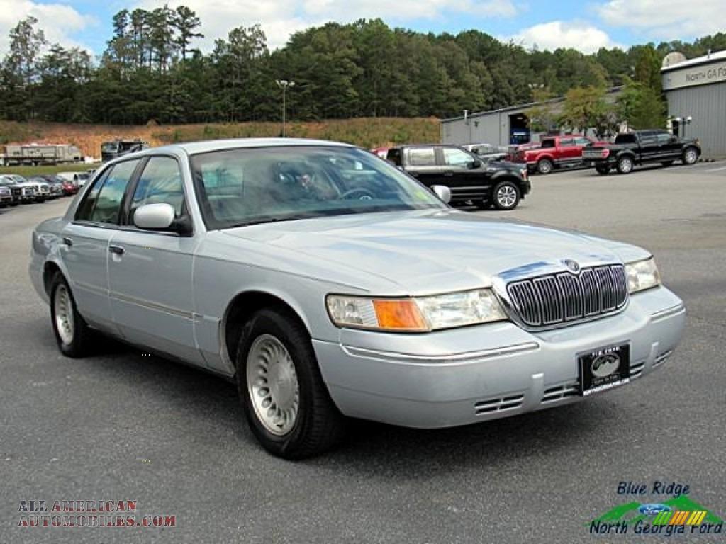 2000 Grand Marquis LS - Silver Frost Metallic / Light Graphite photo #7