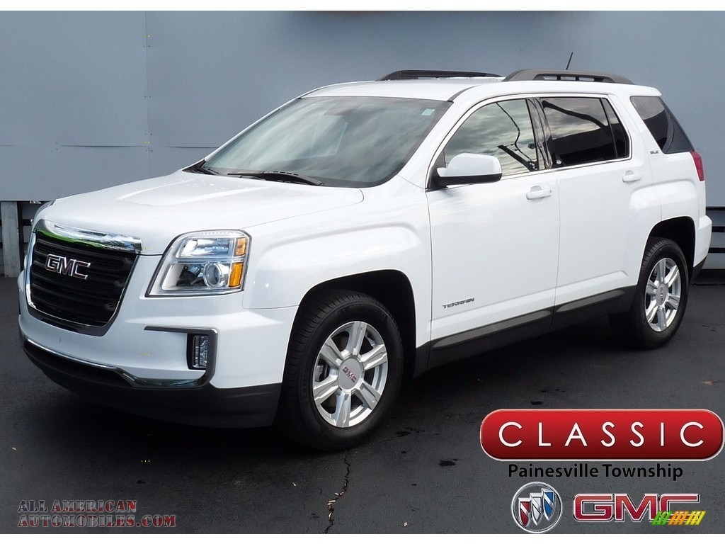 2016 Terrain SLE AWD - Summit White / Jet Black photo #1