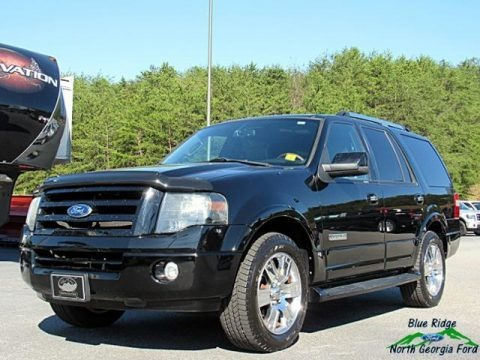 Black 2007 Ford Expedition Limited