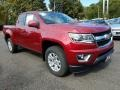Chevrolet Colorado LT Extended Cab 4x4 Cajun Red Tintcoat photo #1