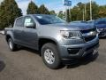 Chevrolet Colorado WT Crew Cab Satin Steel Metallic photo #1