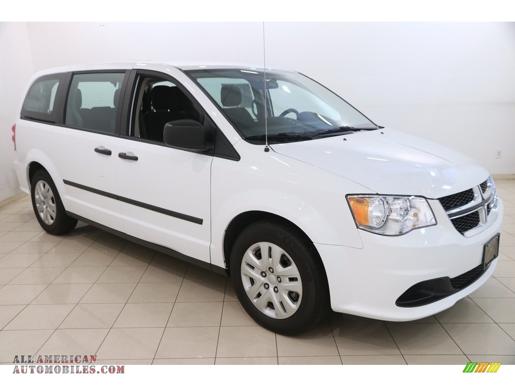 2016 Grand Caravan SE - Bright White / Black/Light Graystone photo #1