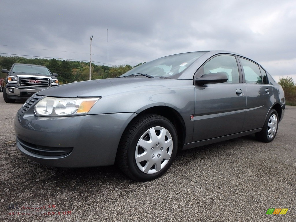 2006 ION 2 Sedan - Storm Gray / Gray photo #1