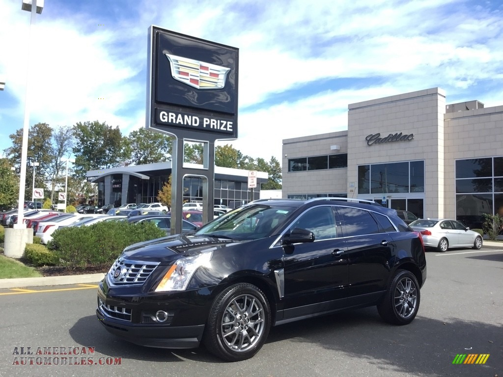 Black Raven / Ebony/Ebony Cadillac SRX Performance