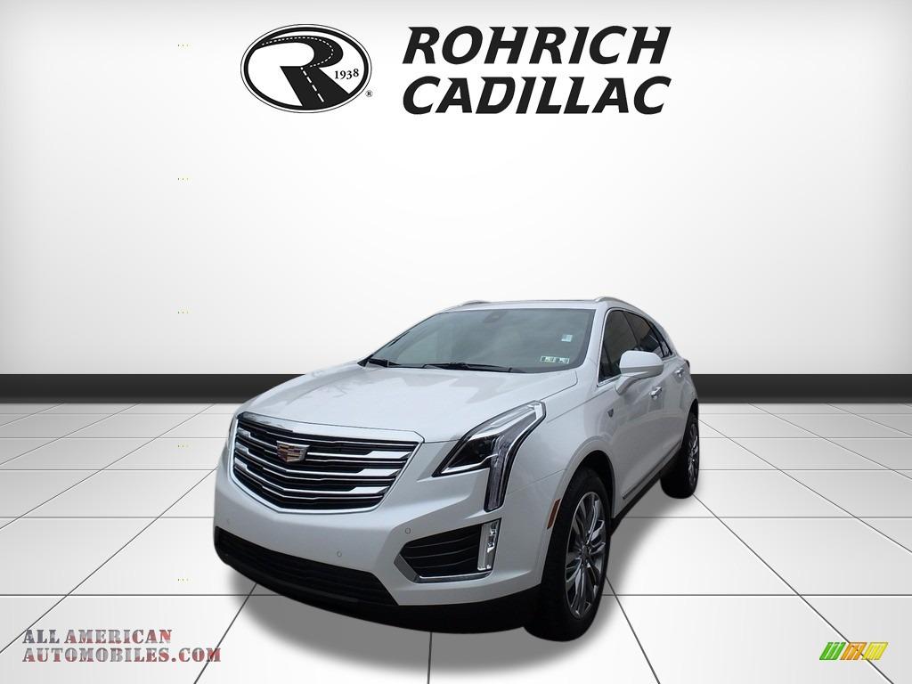 Crystal White Tricoat / Sahara Beige Cadillac XT5 Premium Luxury AWD