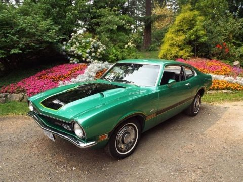 Grabber Green 1971 Ford Maverick Coupe