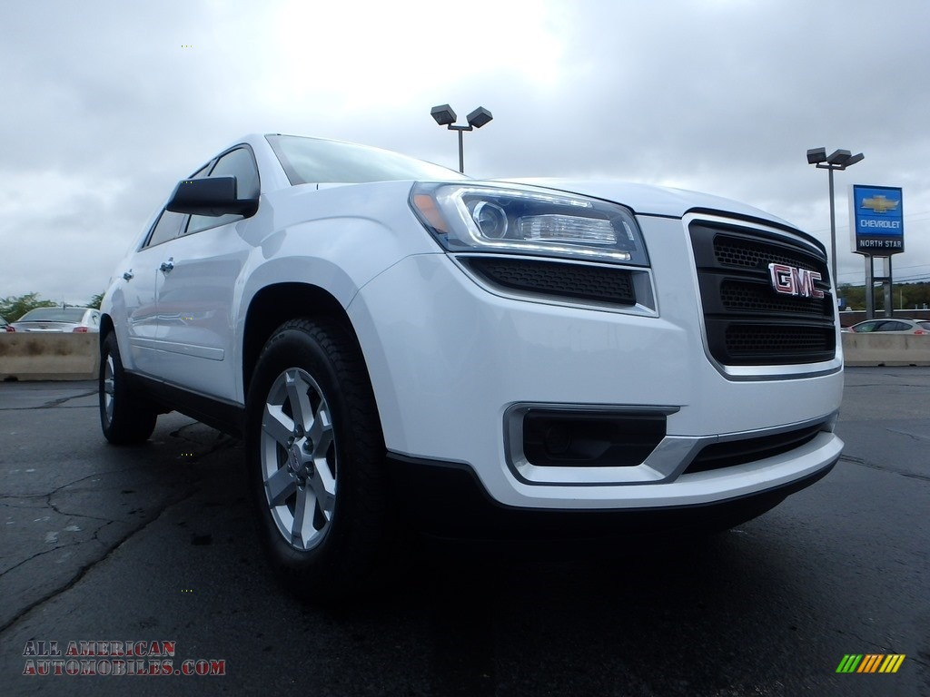 2016 Acadia SLE - Summit White / Ebony photo #12