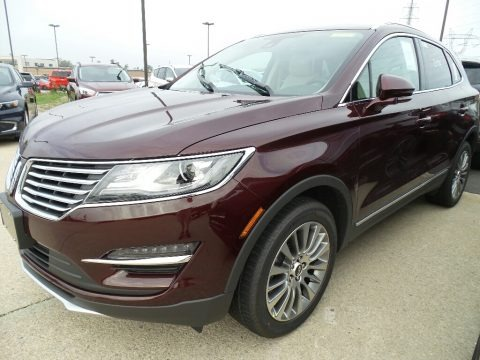 Burgundy Velvet Metallic 2018 Lincoln MKC Reserve AWD