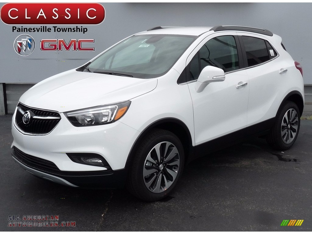 2017 Encore Preferred II AWD - Summit White / Ebony photo #1