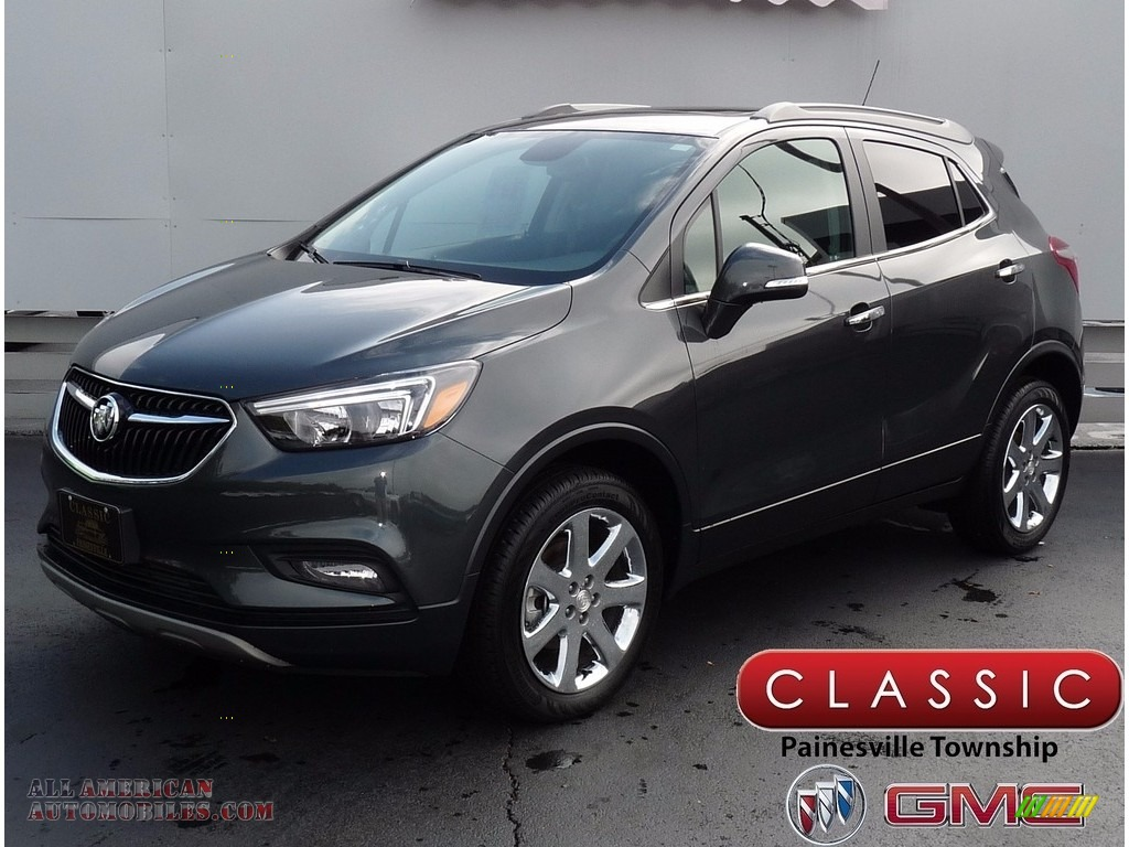 2017 buick encore preferred ii awd in graphite gray metallic 113858 all american automobiles. Black Bedroom Furniture Sets. Home Design Ideas
