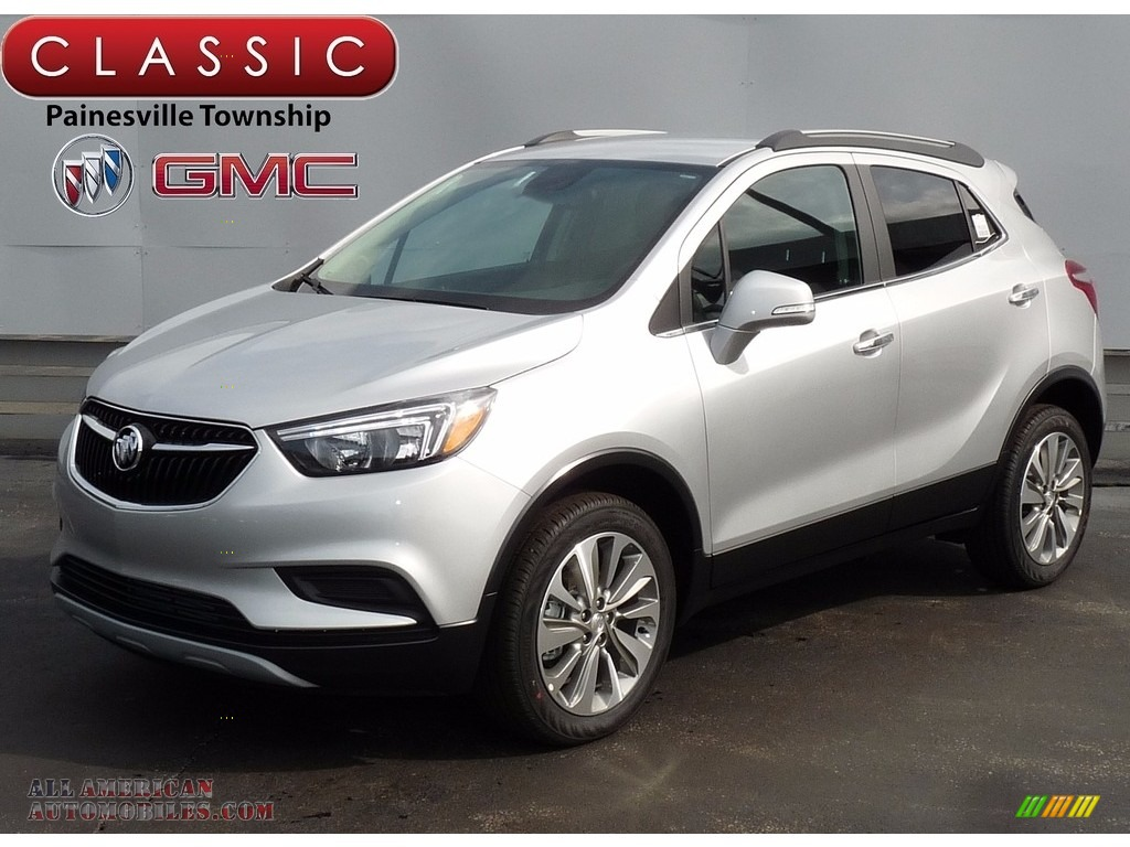 2017 buick encore preferred awd in quicksilver metallic 086301 all american automobiles. Black Bedroom Furniture Sets. Home Design Ideas