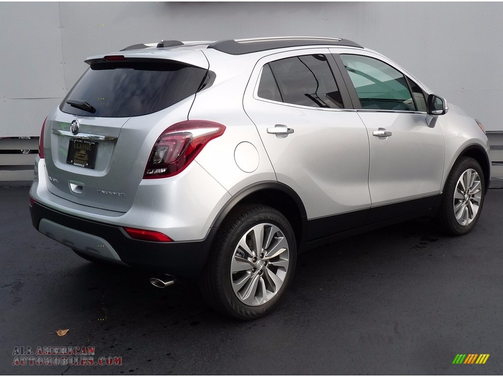 2018 Encore Preferred - Quicksilver Metallic / Ebony photo #2