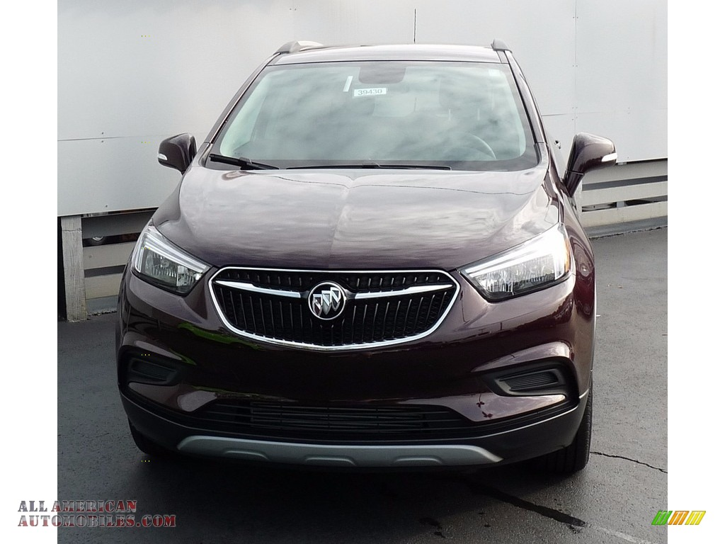 2018 Encore Preferred AWD - Black Cherry Metallic / Ebony photo #4