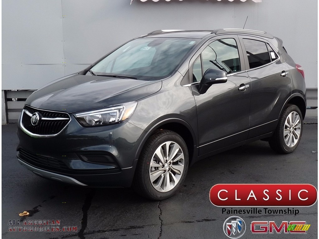 2018 Encore Preferred AWD - Graphite Gray Metallic / Ebony photo #1