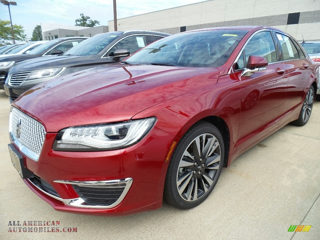 2017 MKZ Reserve - Ruby Red / Cappuccino photo #1