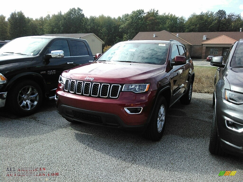 Velvet Red Pearl / Black Jeep Grand Cherokee Laredo 4x4