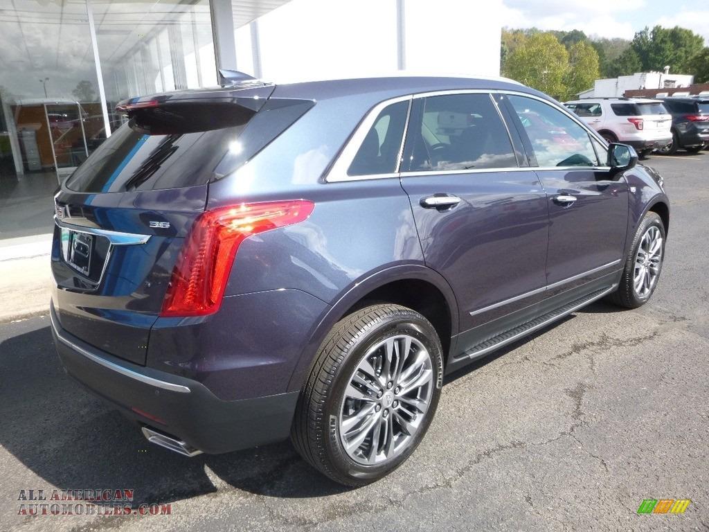 2018 XT5 Premium Luxury AWD - Harbor Blue Metallic / Jet Black photo #4