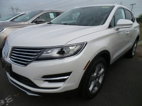 White Platinum 2018 Lincoln MKC Premier