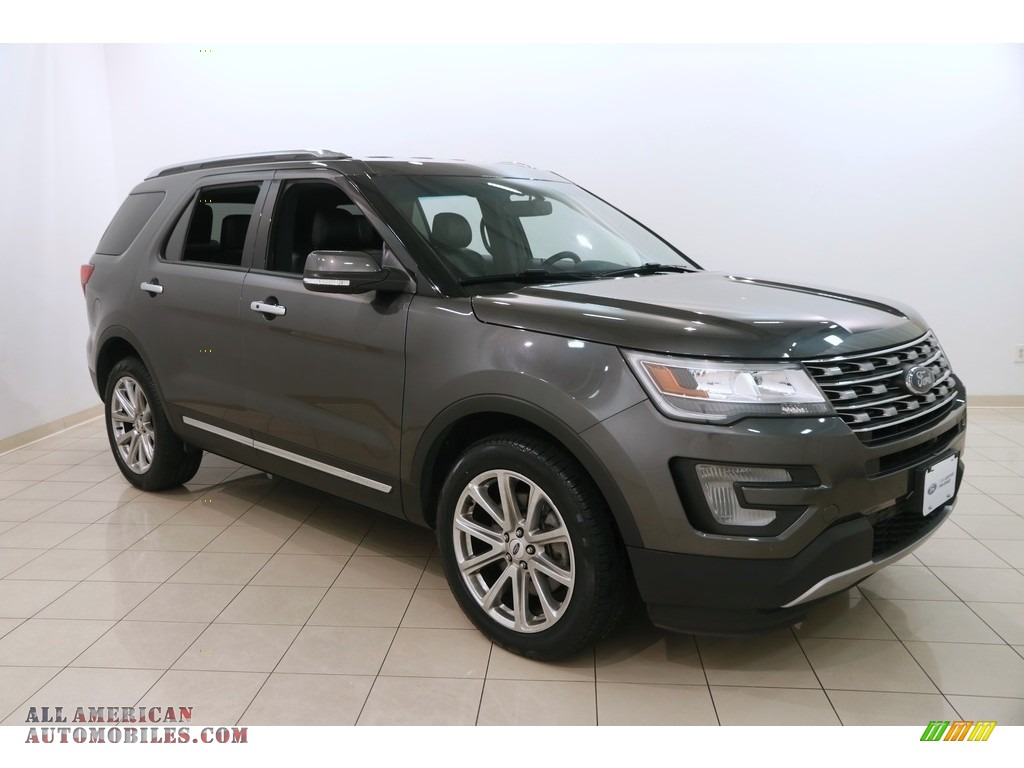 Magnetic / Ebony Black Ford Explorer Limited 4WD