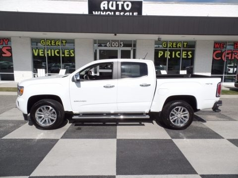 Summit White 2017 GMC Canyon SLT Crew Cab 4x4
