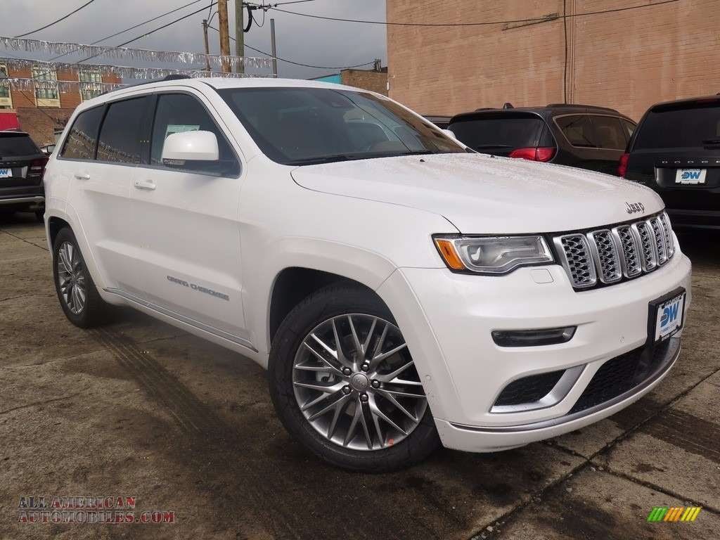 2018 jeep grand cherokee summit 4x4 in ivory tri coat 130040 all american automobiles buy. Black Bedroom Furniture Sets. Home Design Ideas