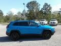 Jeep Cherokee Trailhawk 4x4 Hydro Blue Pearl photo #6