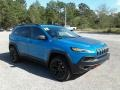 Jeep Cherokee Trailhawk 4x4 Hydro Blue Pearl photo #7
