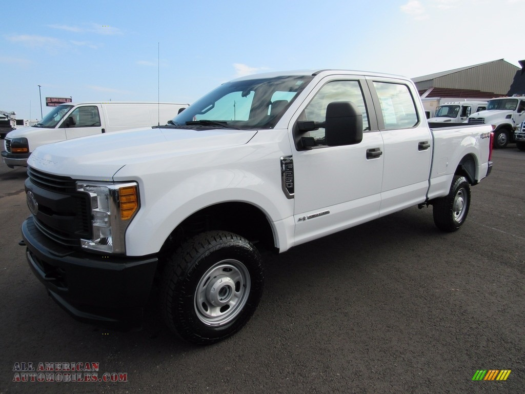 2017 Ford F250 Super Duty Xl Crew Cab 4x4 In Oxford White