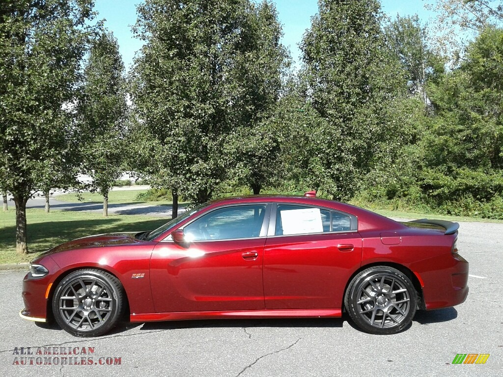Octane Red Pearl / Black Dodge Charger R/T Scat Pack