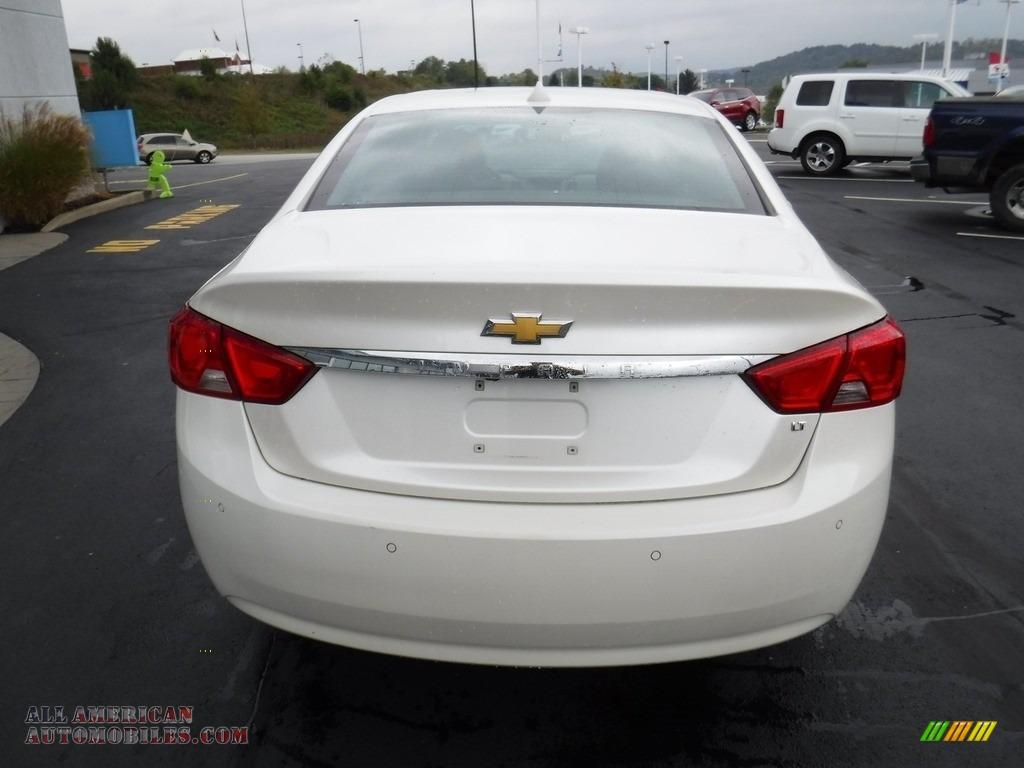2014 Impala LT - White Diamond Tricoat / Jet Black/Brownstone photo #8