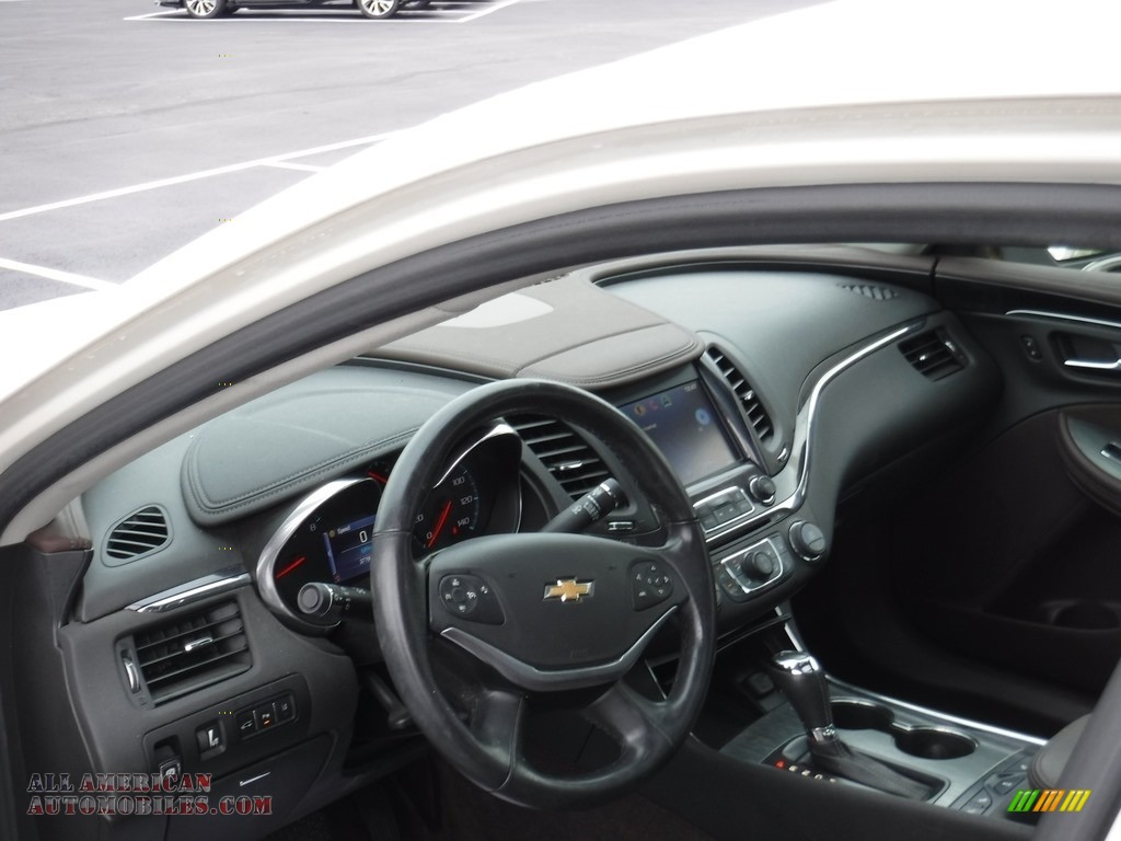 2014 Impala LT - White Diamond Tricoat / Jet Black/Brownstone photo #13