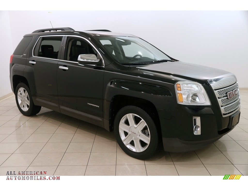 2011 Terrain SLT - Onyx Black / Jet Black photo #1
