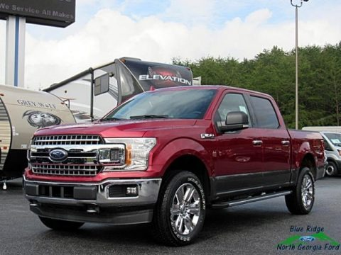 Ruby Red 2018 Ford F150 XLT SuperCrew 4x4