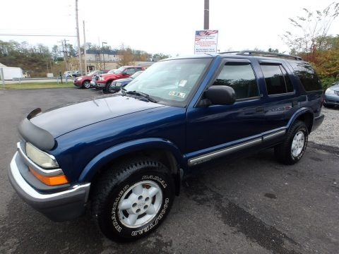 Indigo Blue Metallic 2001 Chevrolet Blazer LS 4x4