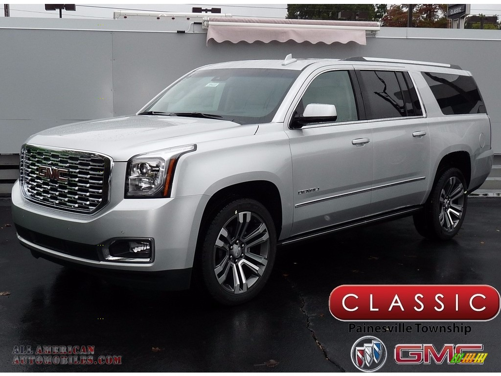 Gmc Yukon Xl Denali >> 2018 GMC Yukon XL Denali 4WD in Quicksilver Metallic ...