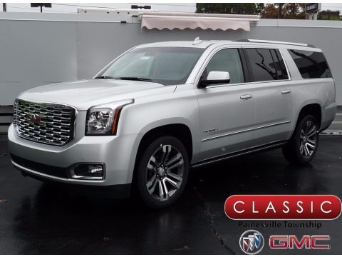 2018 gmc yukon xl denali 4wd in white frost tricoat for sale 145434 all american automobiles. Black Bedroom Furniture Sets. Home Design Ideas