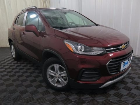 Red Hot 2017 Chevrolet Trax LT AWD