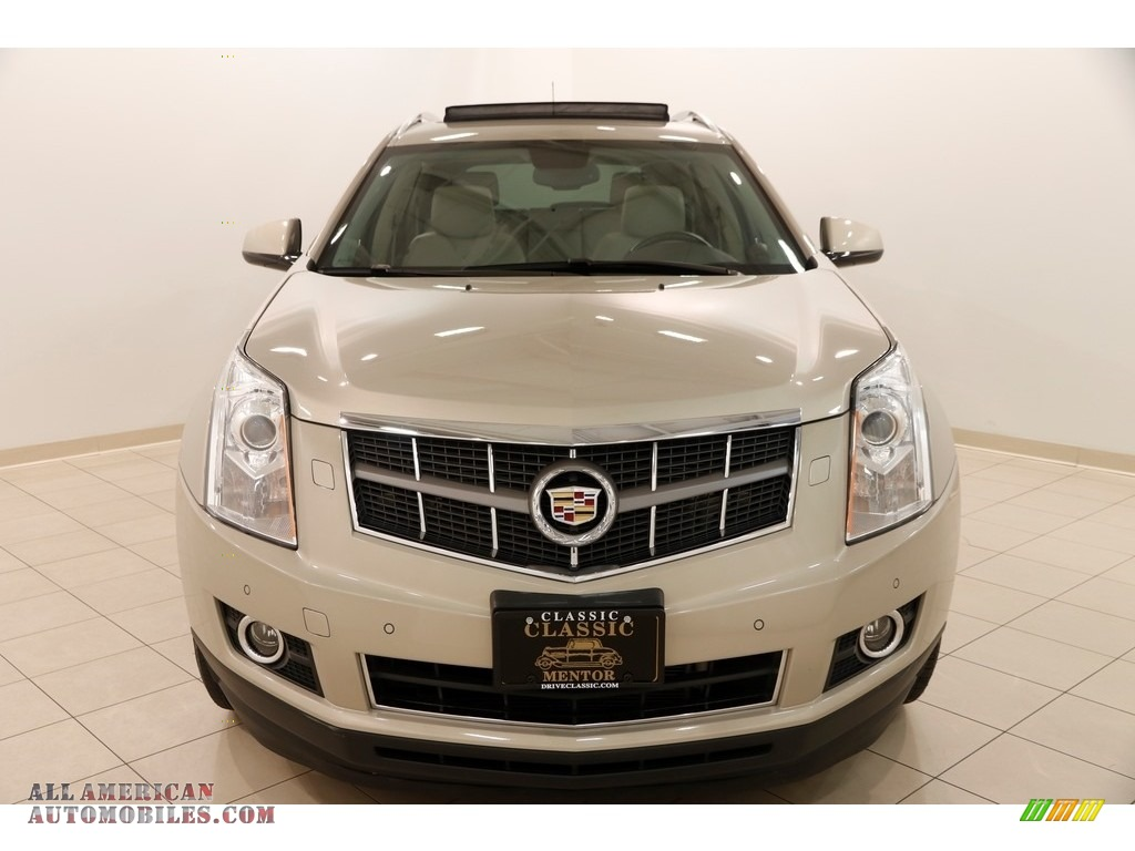 2012 SRX Performance - Gold Mist Metallic / Shale/Brownstone photo #2