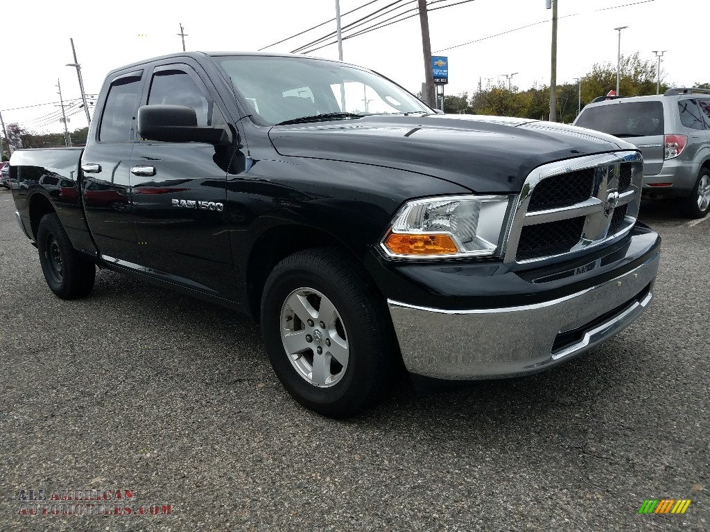 2012 dodge ram 1500 slt quad cab 4x4 in black photo 4 292609 all american automobiles buy. Black Bedroom Furniture Sets. Home Design Ideas