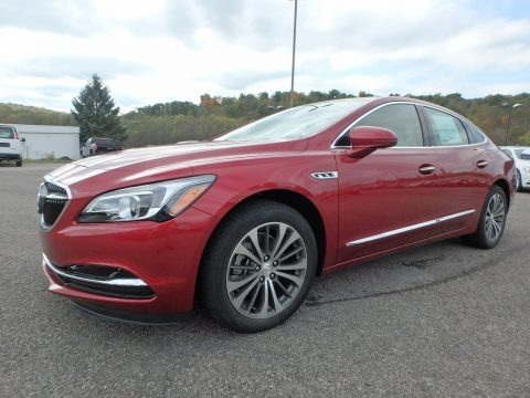 Red Quartz Tintcoat 2018 Buick LaCrosse Essence