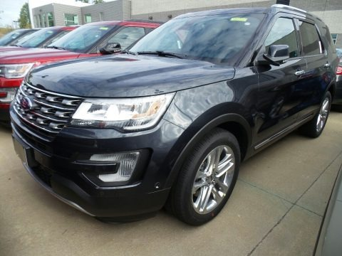 Smoked Quartz 2017 Ford Explorer Limited 4WD