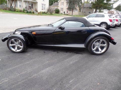 Prowler Black 1999 Plymouth Prowler Roadster