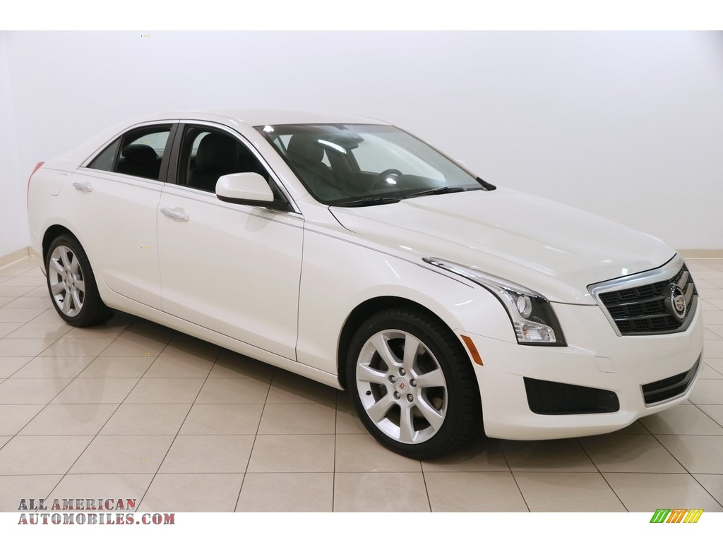2014 ATS 2.0L Turbo AWD - White Diamond Tricoat / Jet Black/Jet Black photo #1