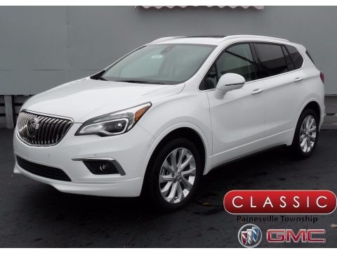 Summit White 2018 Buick Envision Preferred AWD