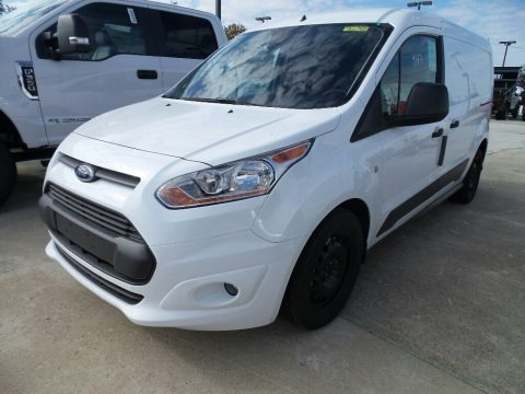 Frozen White 2018 Ford Transit Connect XLT Van