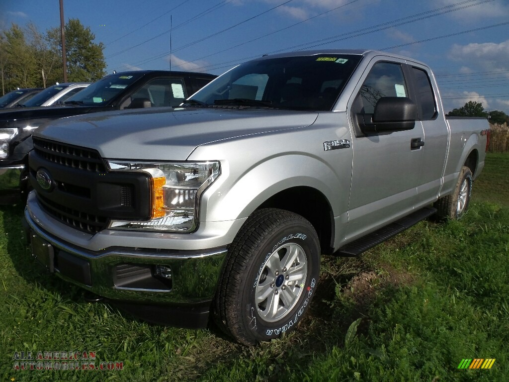 2018 ford f150 xl supercab 4x4 in ingot silver for sale a90998 all american automobiles. Black Bedroom Furniture Sets. Home Design Ideas
