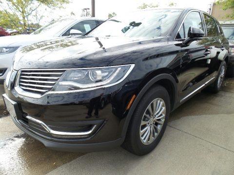 Black Velvet 2017 Lincoln MKX Select AWD