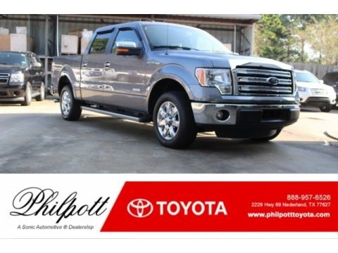 Sterling Grey 2014 Ford F150 Lariat SuperCrew