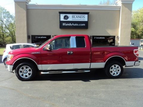 Red Candy Metallic 2010 Ford F150 XLT SuperCab