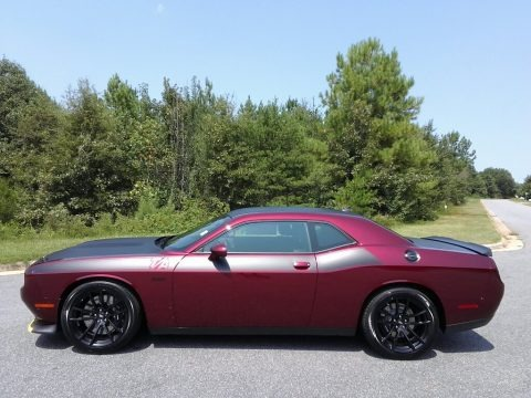Octane Red Pearl 2018 Dodge Challenger T/A 392